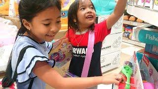 Vlog Seru Berburu Mainan bersama Zara Cute di Mall Jakarta - Toy Hunting for Kids