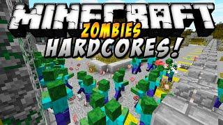 Minecraft - EL ZOMBIE HARDCORE MOD (Definitivamente, ten miedo...) - ESPAÑOL TUTORIAL