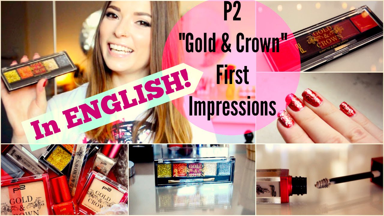 German Drugstore Makeup – First Impressions P20 Cosmetics