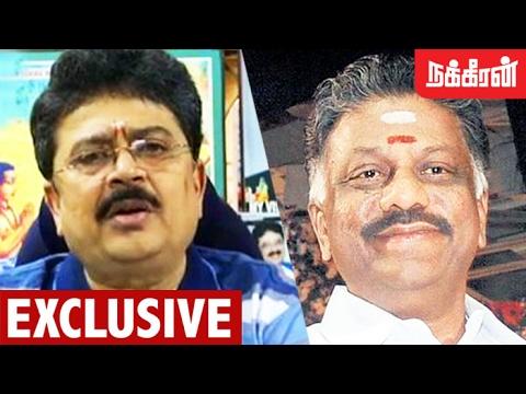 ஓபிஎஸ்-ன் அரசியல் ராஜதந்திரம்.! SV Sekar on O Panneerselvam's Revolt Against Sasikala Issue