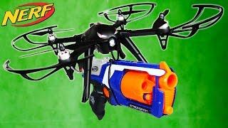 FLYING NERF GUN MOD!!