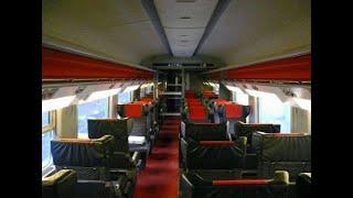 """TGV شاهد فخامة القطار الفائق السرعة """"تي جي في"""" من الداخل .. طنجة الدار البيضاء مع سرعة جنونية"""