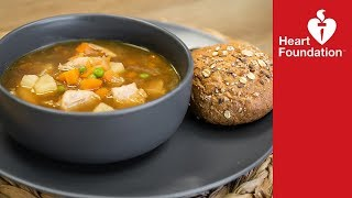 Chicken & vegetable soup recipe | Heart Foundation NZ