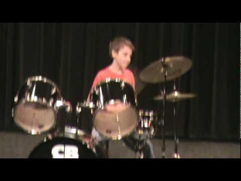 Ben Besch  Drums at Shallowford Falls Elementary School Talent Show