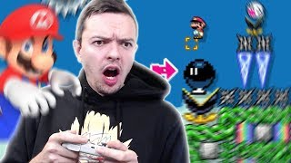 I Tried Playing SUPER EXPERT Difficulty Mario Maker 2 Levels...