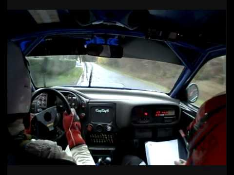 On-board Lietaer/Pattyn - Subaru Impreza WRC - Condroz Rally 2010