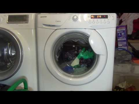 Hoover Optima OPH714D Washing Machine : Cotton Standard Eco 60'c (Full cycle)