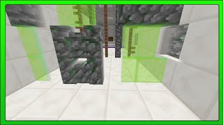 [minecraft Concepts] 1.8 Fence Doors & Tune Combination Lock (redstone)