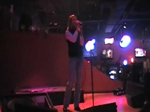 Tina Hyatt singing Watch Me (karaoke)
