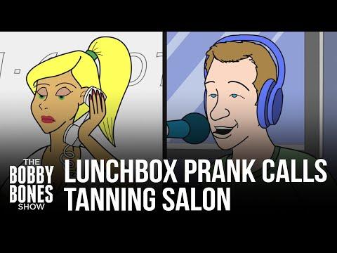 Cartoon Version Of Lunchbox Prank Calling The Tanning Salon