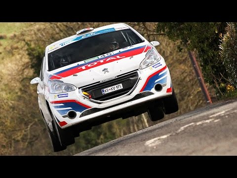 Rok Turk - Blanka Kacin (Peugeot 208 R2) : Circuit of Ireland 2015 - best onboard moments