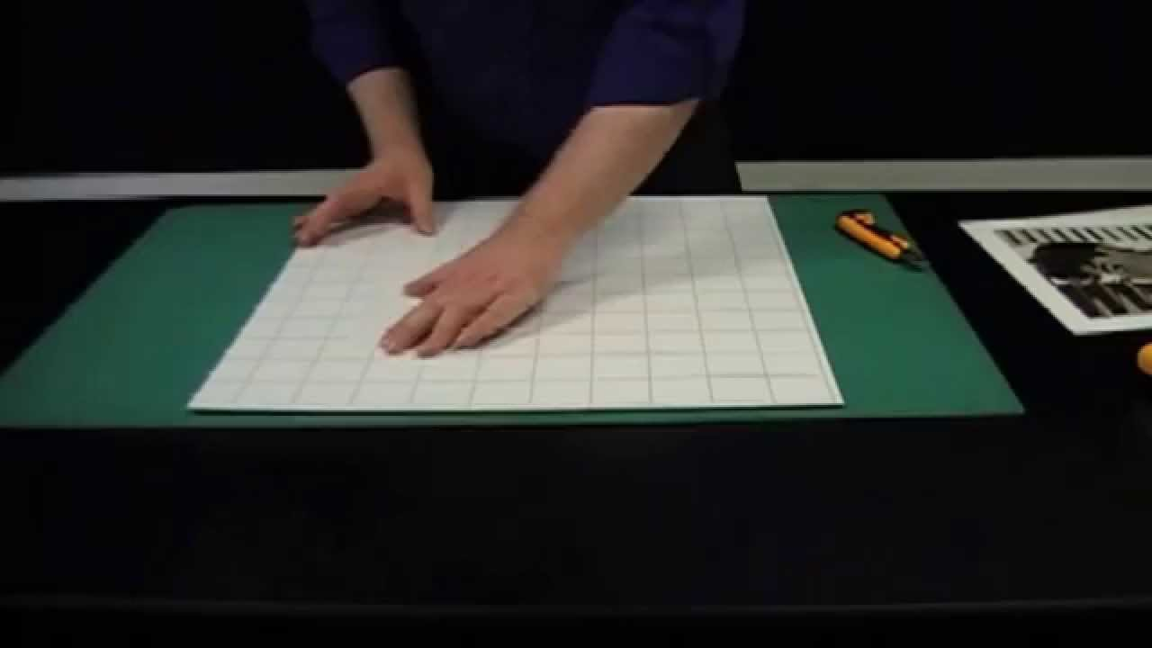 Mounting A Photo Or Print By Hand Onto Self Adhesive Board Youtube