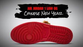 CNY 2021 Air Jordan 1 Low OG DETAILED LOOK + RELEASE DATE