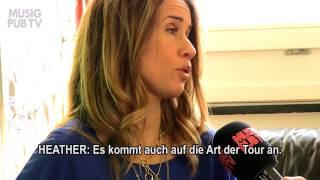 Heather Nova Suisse TV  Interview 2014