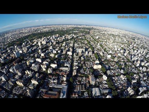 Buenos Aires desde un drone en 4K - Dji Phantom Argentina