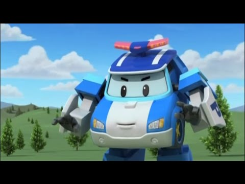 Робокар Поли - Трансформеры - Похвалите Брунера (мультфильм 40)