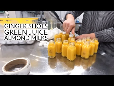 A DAY IN THE LIFE OF A COLD PRESSED JUICE SHOP