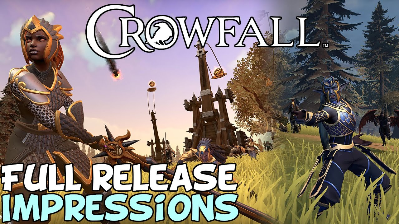 """Crowfall Full Release First Impressions """"Wtf is this..."""""""