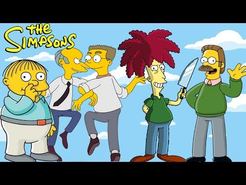 The Simpsons Top 10 Side Characters