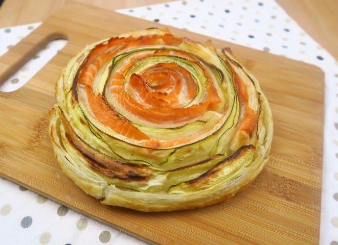 Ricetta pasta sfoglia uova e zucchine