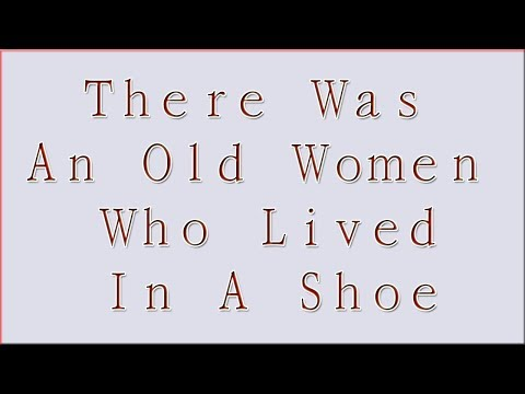There Was An Old Women Who Lived In A Shoe - Nursery Rehyms Music - Sudh Music