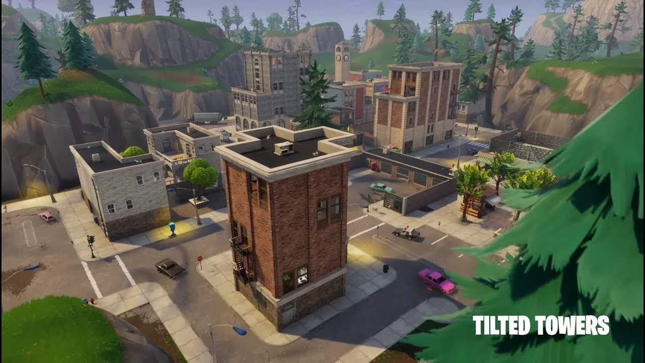 Tilted Towers Challenge Fortnite YouTube