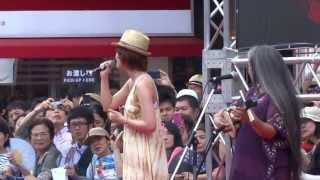 On July 27th, went to view 'Eisa' Festival at Shinjuku in Tokyo, Ei...