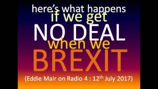 BREXIT : what will happen if UK gets NO DEAL