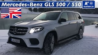 2015 Mercedes-Benz GLS 550 / 500 4MATIC - Full Test, In-Depth Review and Test Drive (English)