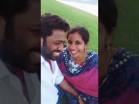 Cute couple humming Telugu Song..!!