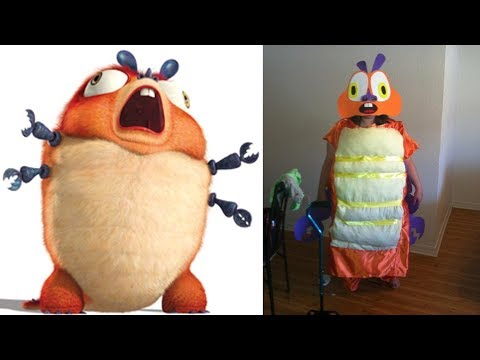 Monsters Vs Aliens Characters In Real Life Youtube