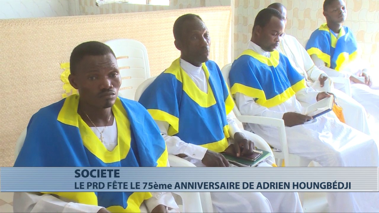 Le Prd fête les 75 ans de vie d'Adrien Houngbédji