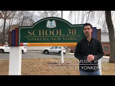 Mike Risko Music visits School 30 in Yonkers NY