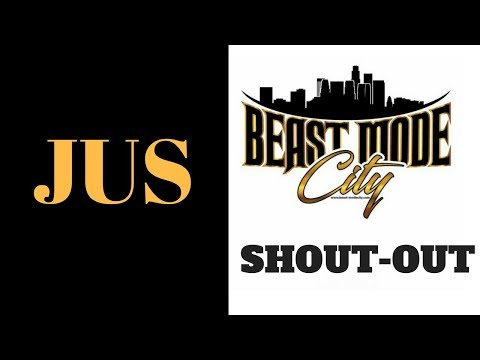 NY Rapper - JUS- - Shows Beast-Mode City Some Love