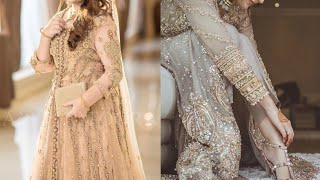 Fancy dresses for Eid and party wear very beautiful and Stylish dresses for girls latest collection