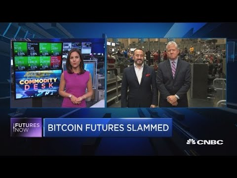Bitcoin Futures Slammed, Near 2018 Low