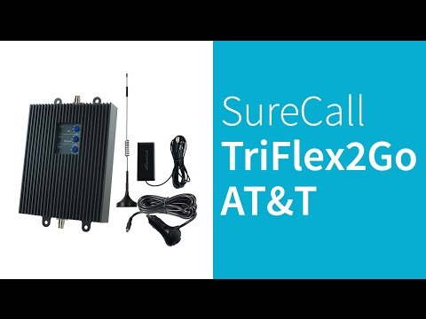 Surecall TriFlex2Go-A 4G LTE AT&T Cell Phone Signal Booster
