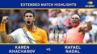 Extended Highlight: Karen Khachanov vs. Rafael Nadal | 2018 US Open, R3