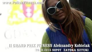 II GRAND PRIX FITNESS ALEKSANDRY KOBIELAK  & TWOJE SUPLEMENTY zaproszenie