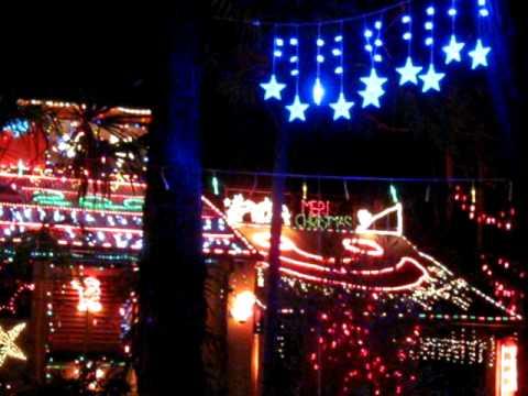 Christmas lights Belrose 8 Dec 2008 009.avi - YouTube
