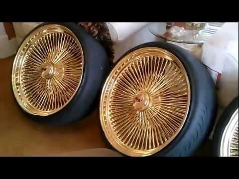 24 Inch Gold Daytons Soldfor Sale $3000 Caprice Impala