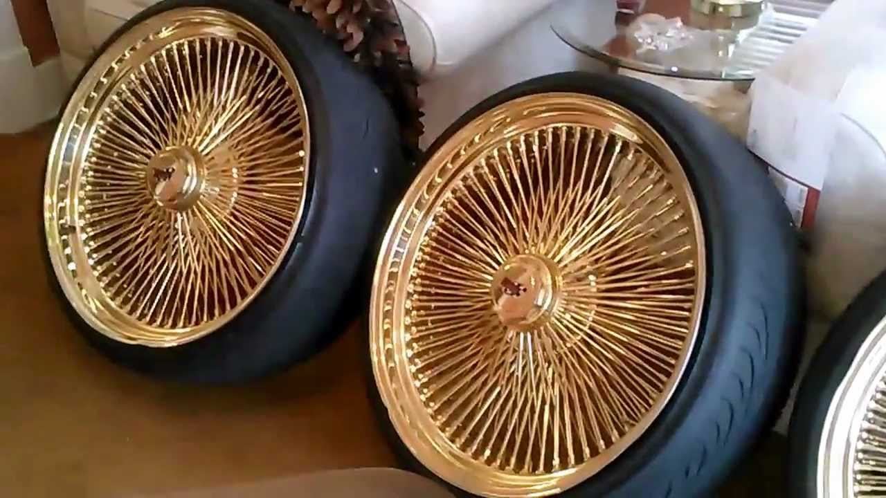 24 Inch Gold Daytons Sold For Sale 3000 Caprice Impala