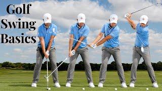 Golf Swing Basics - Eąsy Steps For Beginners (2019)