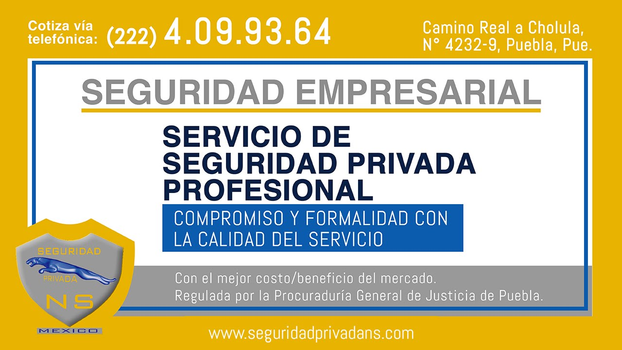 Empresas de seguridad privada puebla youtube for Empresas de seguridad en tenerife