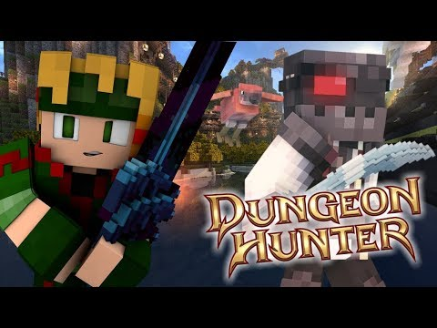 THE FIRST DUNGEON!!   DUNGEON HUNTERS   EP2 (DUNGEON HUNTERS Minecraft Server ROLEPLAY)