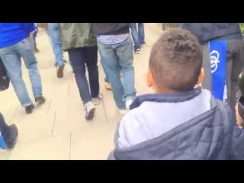 "5 Year Old QPR fan singing ""Captain Jack"" after Play-Off Finals 2014 at Wembley"