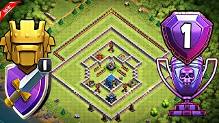 TH12 STRONG DEFENSIVE LEGEND BASE WITH REPLAYS | TH12 TROPHY BASE FOR LEGEND LEAGUE - Clash of Clans