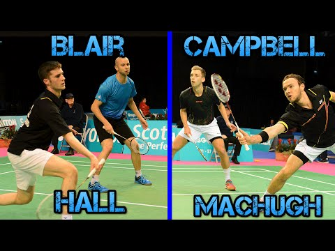 Men's Doubles Final | BLAIR/HALL v CAMPBELL/MACHUGH | SNBC 2016