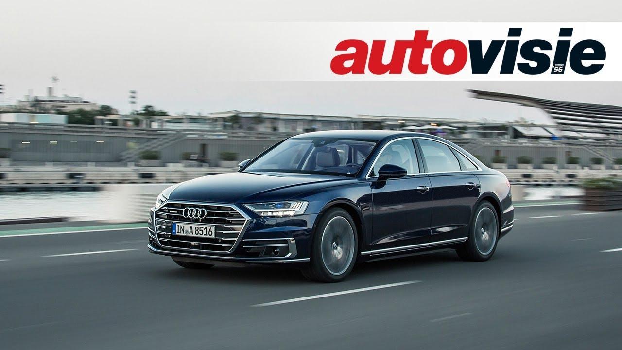 Review: Audi A8 (2017) - door Autovisie TV