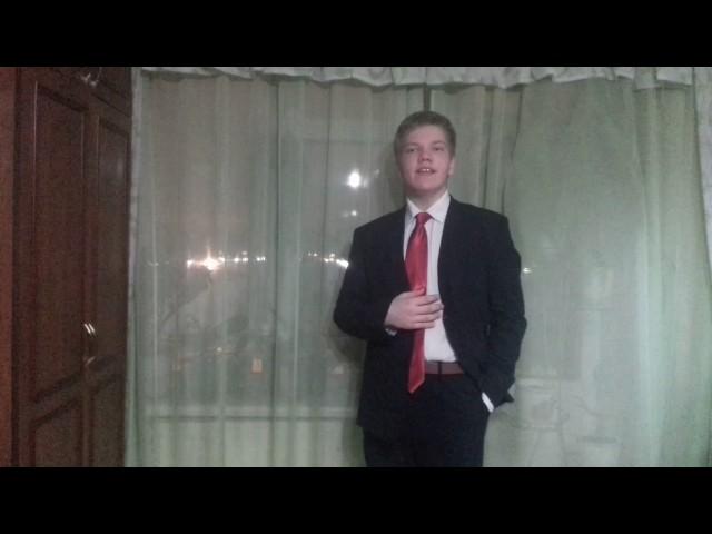 Изображение предпросмотра прочтения – АлександрРудинский читает отрывок изпроизведения «Облако в штанах» В.В.Маяковского